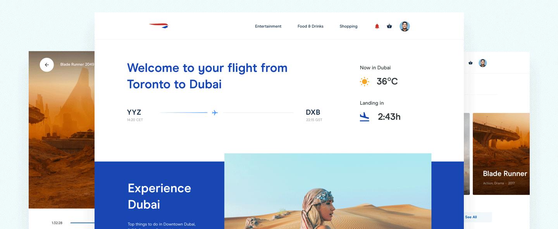 British Airways In-Flight Experience Design
